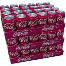 Coca Cola Cherry 72x0,33l Dosen XXL-Paket (Cherry Coke)