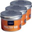 Nomu Barbecue Rub Gewürz Poultry 3 x 55g...