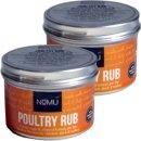 Nomu Barbecue Rub Gewürz Poultry 2 x 55g...
