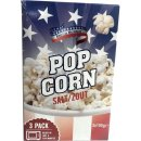 American Mikrowellen Popcorn salzig, 3 x 100g (Microwave...