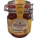 Breitsamer Honig Imkergold Vloeibaar helder goud 1000g...
