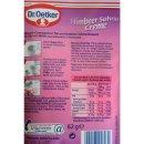 Dr. Oetker Himbeer-Sahne-Creme (62g Packung)