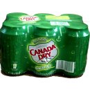 Canada Dry Ginger Ale 4 Pack á 6 x 0,33l Dose...