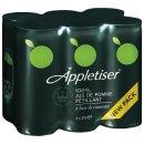 Appletiser Fruchtsaft mit Kohlensäure 6x0,25l Dosen...