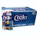 Croky Chips Paprika 18 x 200g Karton