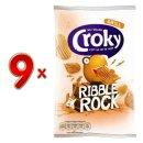 Croky Chips Ribble Rock Grill 9 x 150g Karton