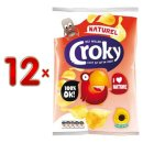 Croky Chips Naturel 12 x 100g Karton