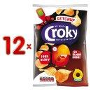 Croky Chips Ketchup 12 x 100g Karton