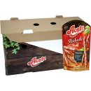 Aoste Stickado Pikanto 12 x 70g Beutel (scharfe Minisalamis)