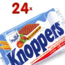 Knoppers Single 24 x 25g Packung (knusprige...