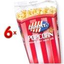 Jimmys Popcorn Soet Tub 6x140g Packung (gezuckertes Popcorn)