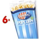 Jimmys Popcorn Zout 6x90g Packung (gesalzenes Popcorn)