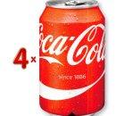 Coca Cola 4 x 6-Pack á 330 ml Dose (Cola-Dose)
