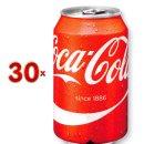 Coca Cola 30 x 330 ml Dose (Cola-Dose)