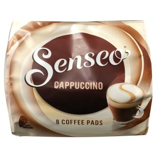 senseo kaffeepads cappuccino 8 coffee pads. Black Bedroom Furniture Sets. Home Design Ideas
