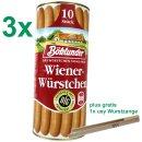 Böklunder Wiener Würstchen PARTYPACK (3x900g...