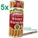 Böklunder Wiener Würstchen GASTROPACK (5x900g...
