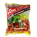 A-One Instant Nudelsuppe mit Sataygeschmack (85g Packung)