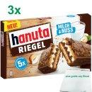 Ferrero hanuta Riegel Milch & Nuss im 3er Set...
