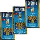 """3x De Cecco Nudeln """"Tortiglioni"""" n.23, 500 g"""