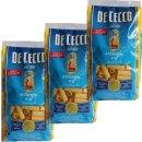 """3x De Cecco Nudeln """"Millerighe"""" n.25, 500 g"""