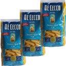 """3x De Cecco Nudeln """"Pennoni rigati"""" n.39, 500 g"""