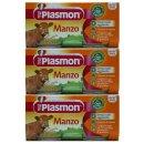 3x Plasmon Babynahrung Manzo Homogenisiert...