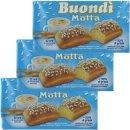 """3x Motta Buondi """"Classico"""" italienische..."""