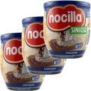 3x Nocilla Chocoleche Spanische Kakao und Milchcreme,...