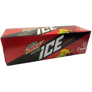 Mountain Dew ICE Cherry 12x0,355l Dose (USA)