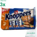 Knoppers Erdnussriegel Officepack (15x25g Packung) + usy...