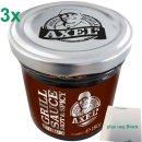 Axel Schulz Axels Grillsauce Hot & Spicy 3er Pack...