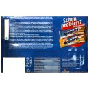 Knoppers Riegel Testpaket (je 5x25g Riegel Erdnuss &...