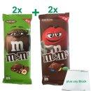 m&ms Schokoladentafel Testpaket mit 2x Chocolate...