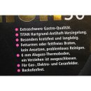 GWS 160360 Pfanne Gastro Titanium flach 36cm (1St)