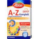 Abtei A-Z Komplett Multi Vitamin Plus Ginkgo (42 Tabletten)