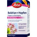 Abtei Baldrian + Hopfen zur Beruhigung (80 Mini Dragees)