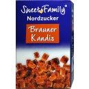 Nordzucker Sweet Family Kandis Braun (500g Packung)