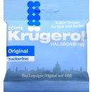 Krügerol Halsbonbon Original Zuckerfrei (50g Beutel)