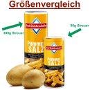 Bad Reichenhaller Pommes Salz Gastro Streuer (1X300g XXL...