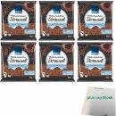 Edeka Milchschokoladen Streusel 6er Pack (6x200g Beutel)...