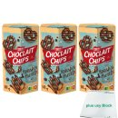 Nestle Choclait Chips Knusperbrezeln 3er Pack (3x140g...