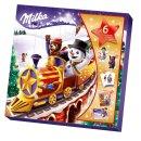 Milka Adventskalender Weihnachtsfreunde Motiv: Schneemann...