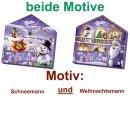 Milka Adventskalender Magic Mix beide Motive (2x204g...
