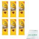 m&ms Peanut Tafel, 150g 6er Pack (6x Milchschokolade...