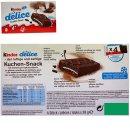 Ferrero Kinder Delice Kuchen-Snack (4x39g...