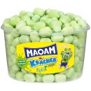 Haribo Maoam Kracher Apfel sauer Kaubonbons, grüne...