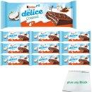Ferrero Kinder Delice Coconut Kuchen-Snack 10er Pack...