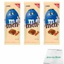 m&ms Almond 3er Pack (3x165g Tafel Milchschokolade...
