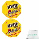 m&ms & Friends 2er Pack (2x179g Packung) + usy Block